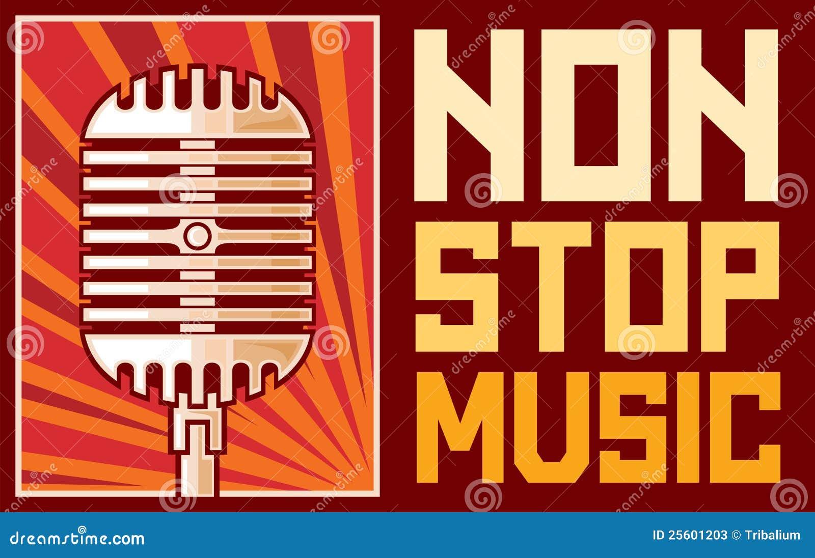 Non Stop Music Stock Photos - Image: 25601203