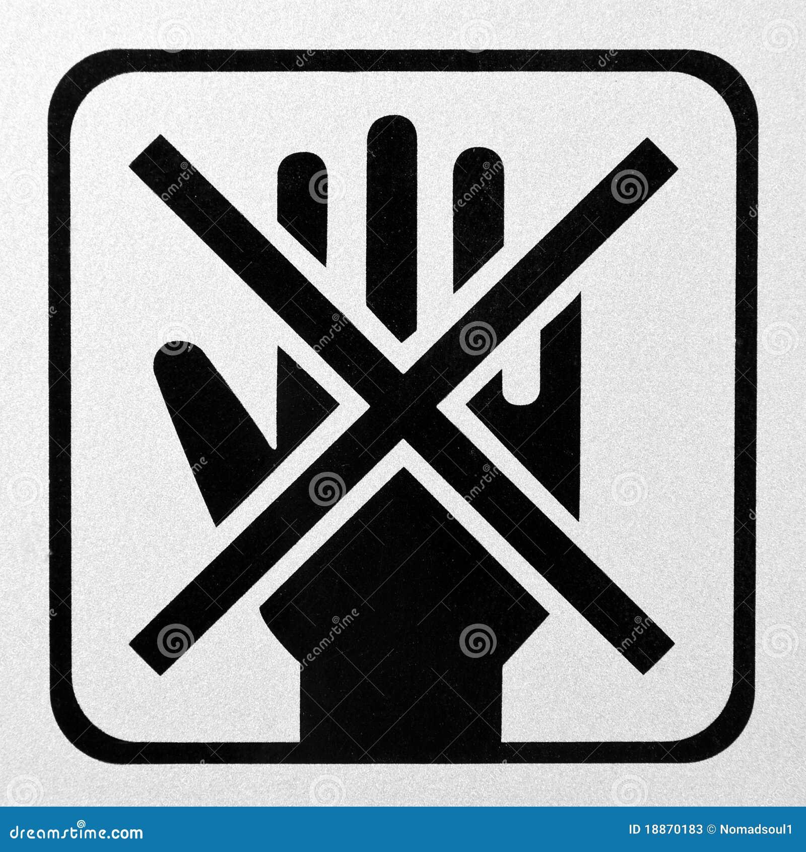 Non tocchi il segno