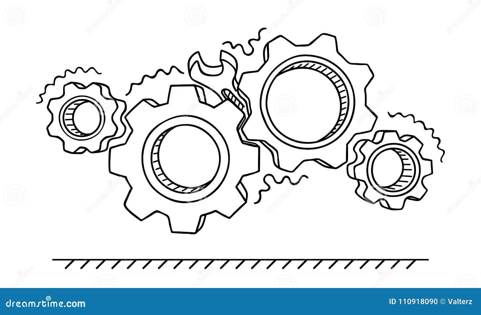 Jammed Stock Illustrations – 319 Jammed Stock ...