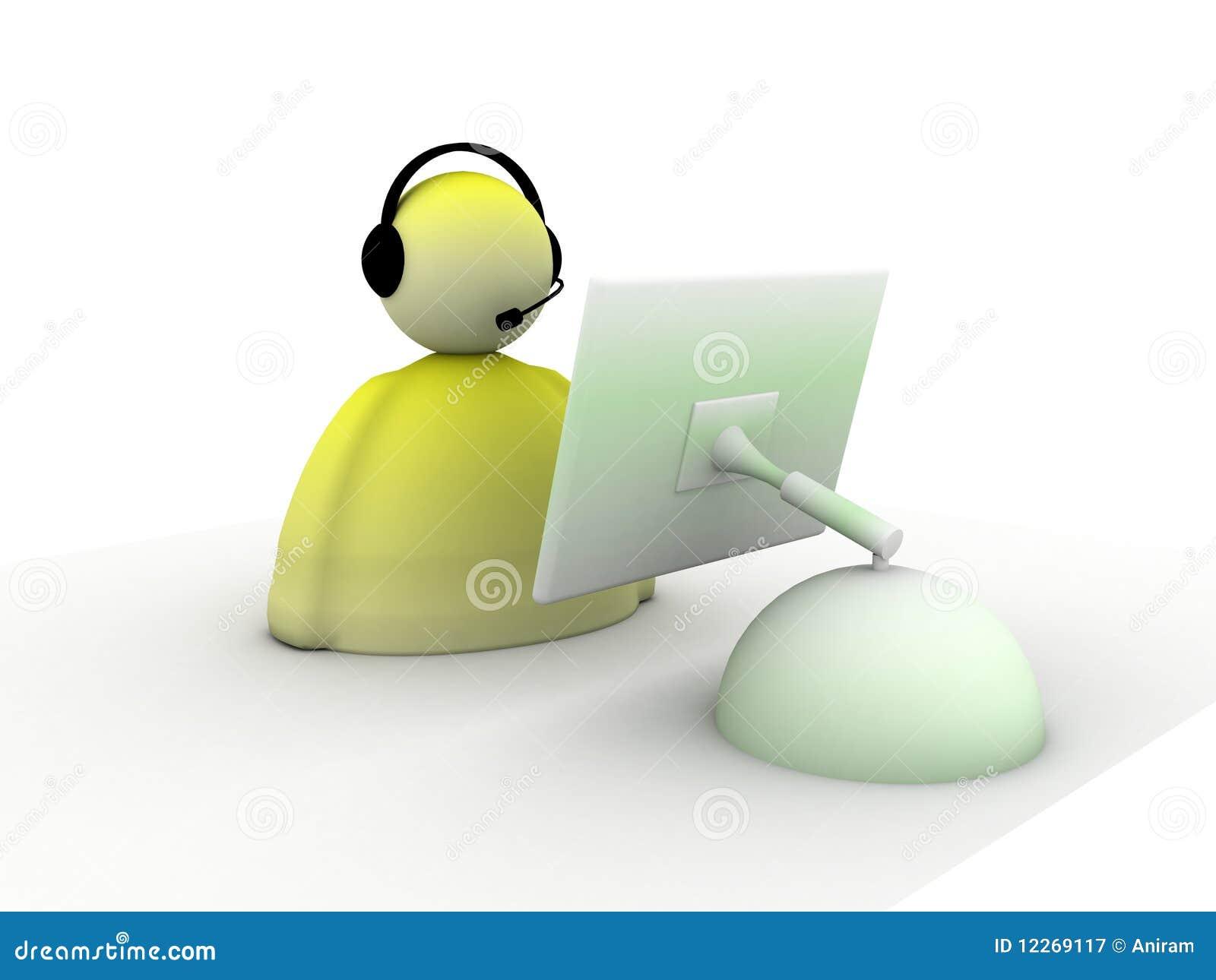 呼叫中心技术支持图片