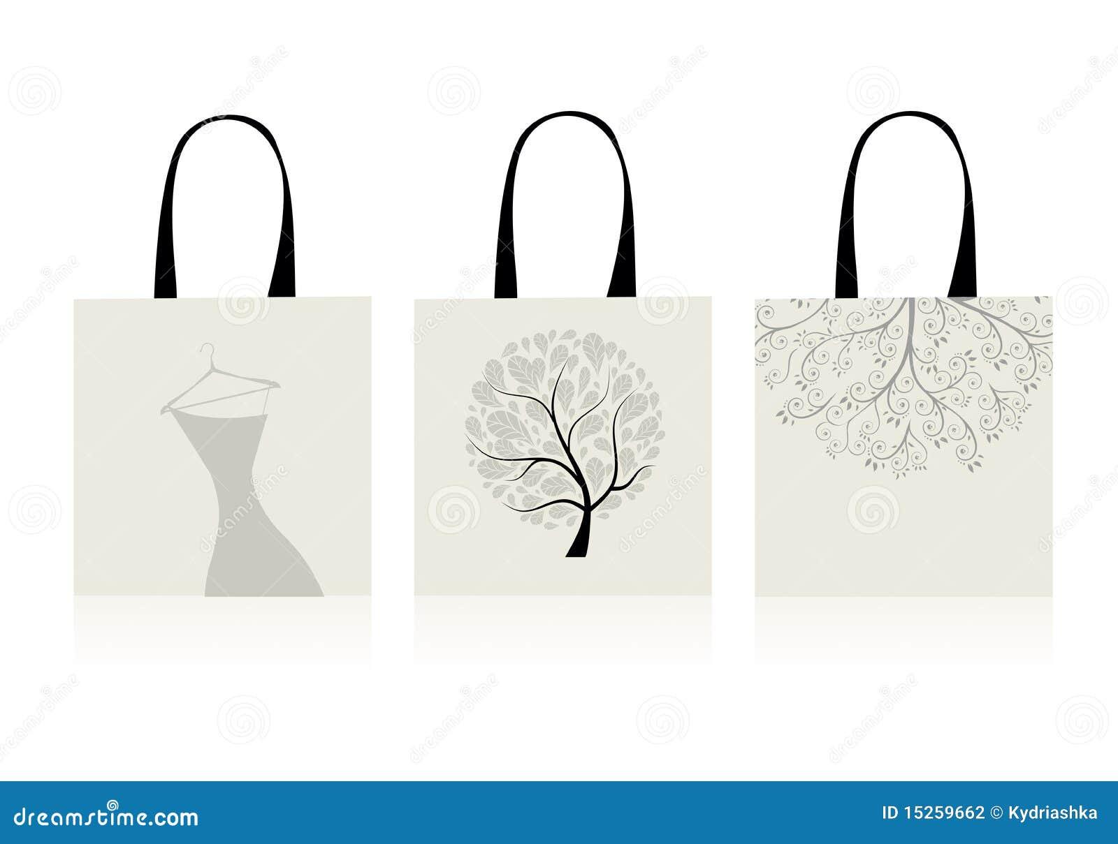 袋子设计购物图片