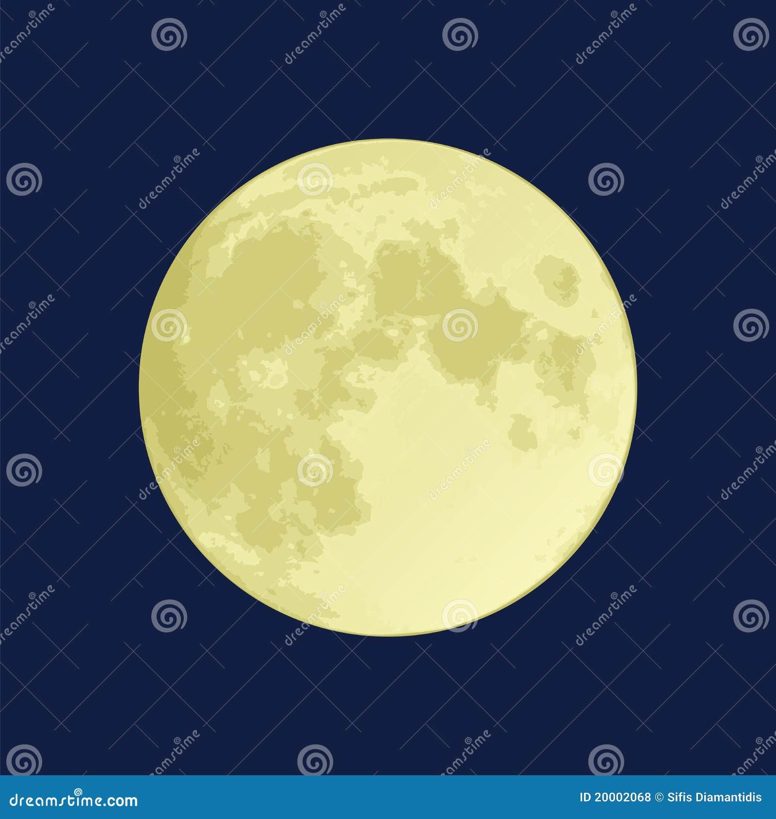 免版税库存照片: 满月图片
