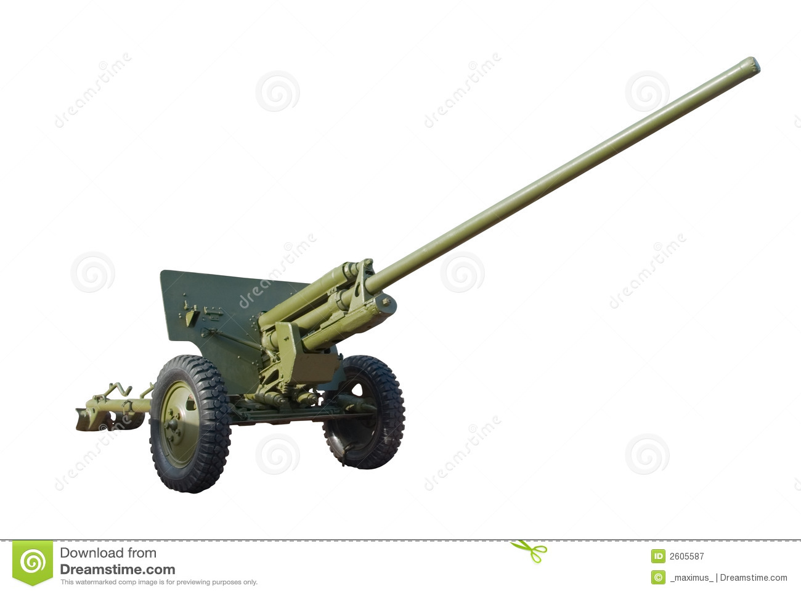 手工制作纸皮大炮或坦克