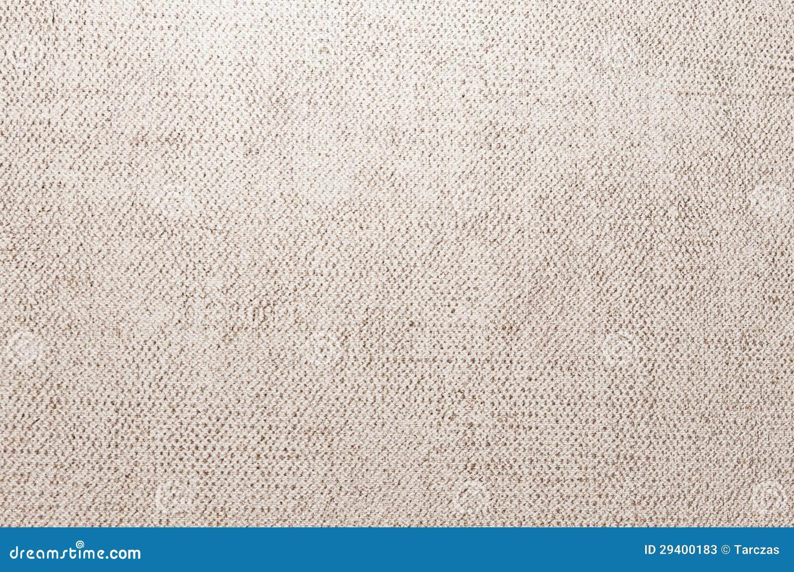 布朗米黄画布纹理或背景