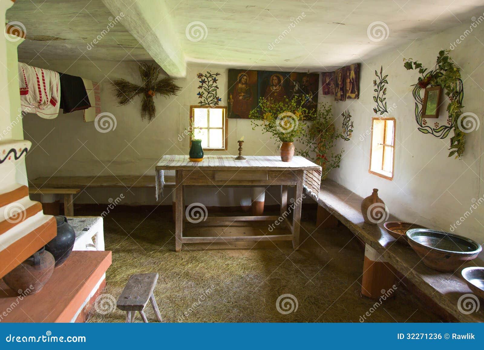 Интерьер сельского дома