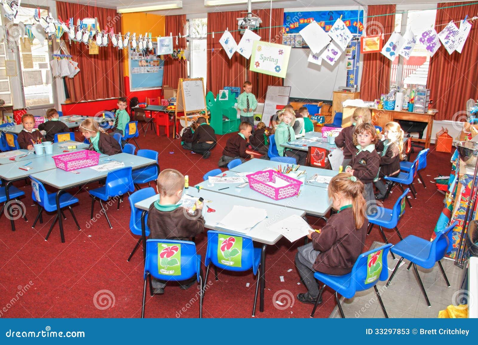 编辑类库存照片: 英国学校教室图片