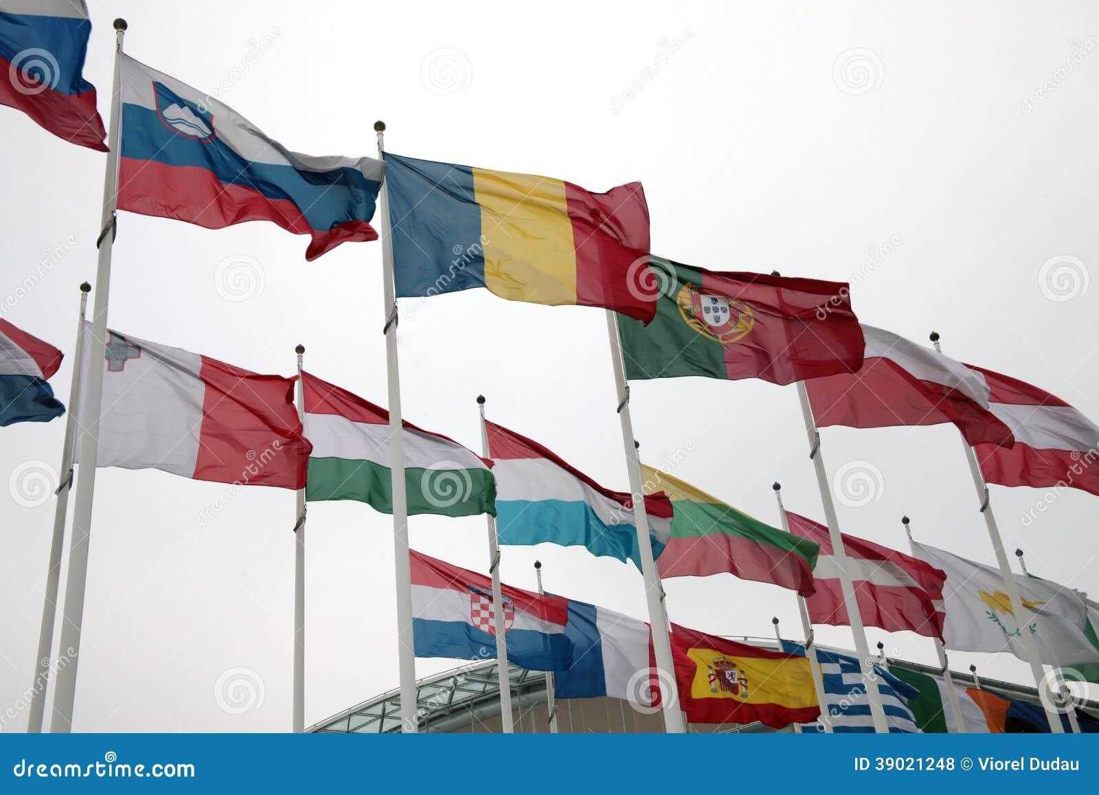 库存照片: 欧盟国旗图片