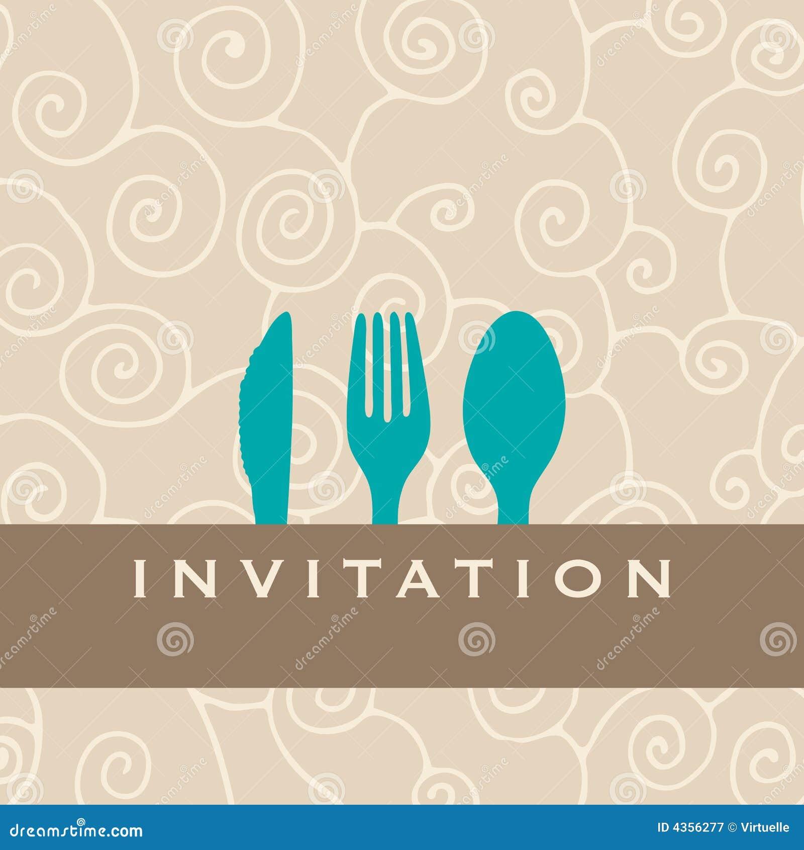 刀叉餐具设计食物菜单餐馆剪影