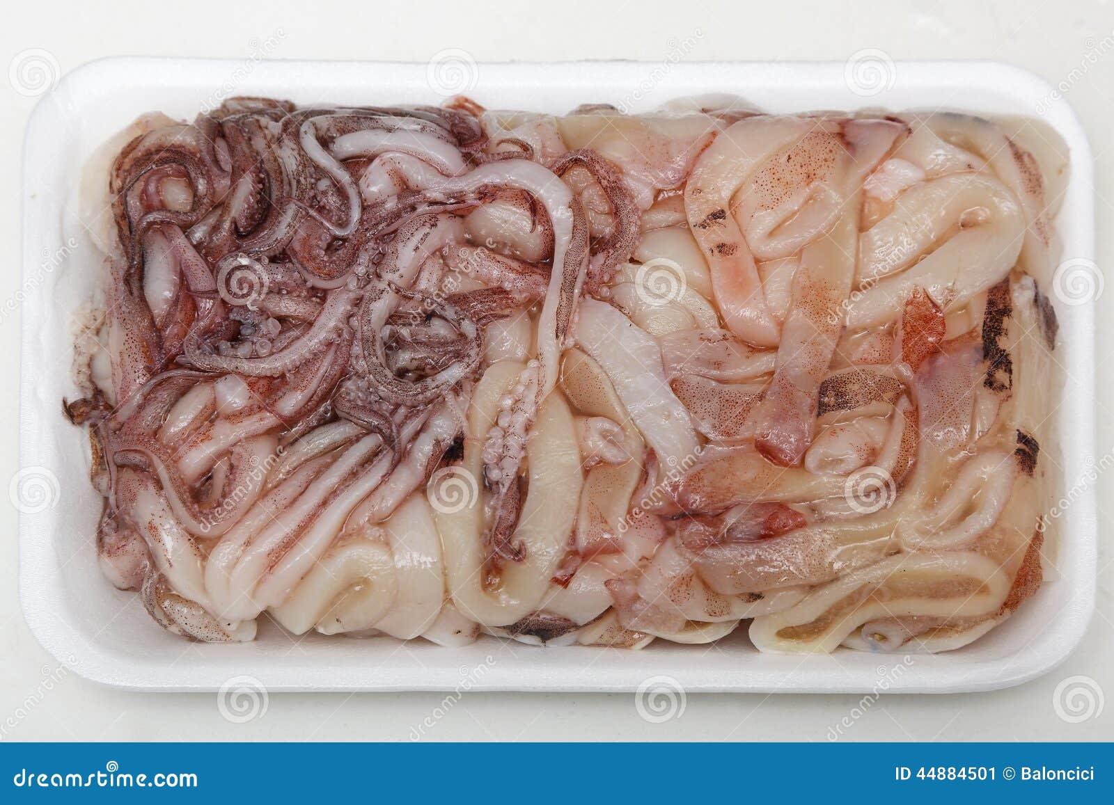 Замороженный кальмар