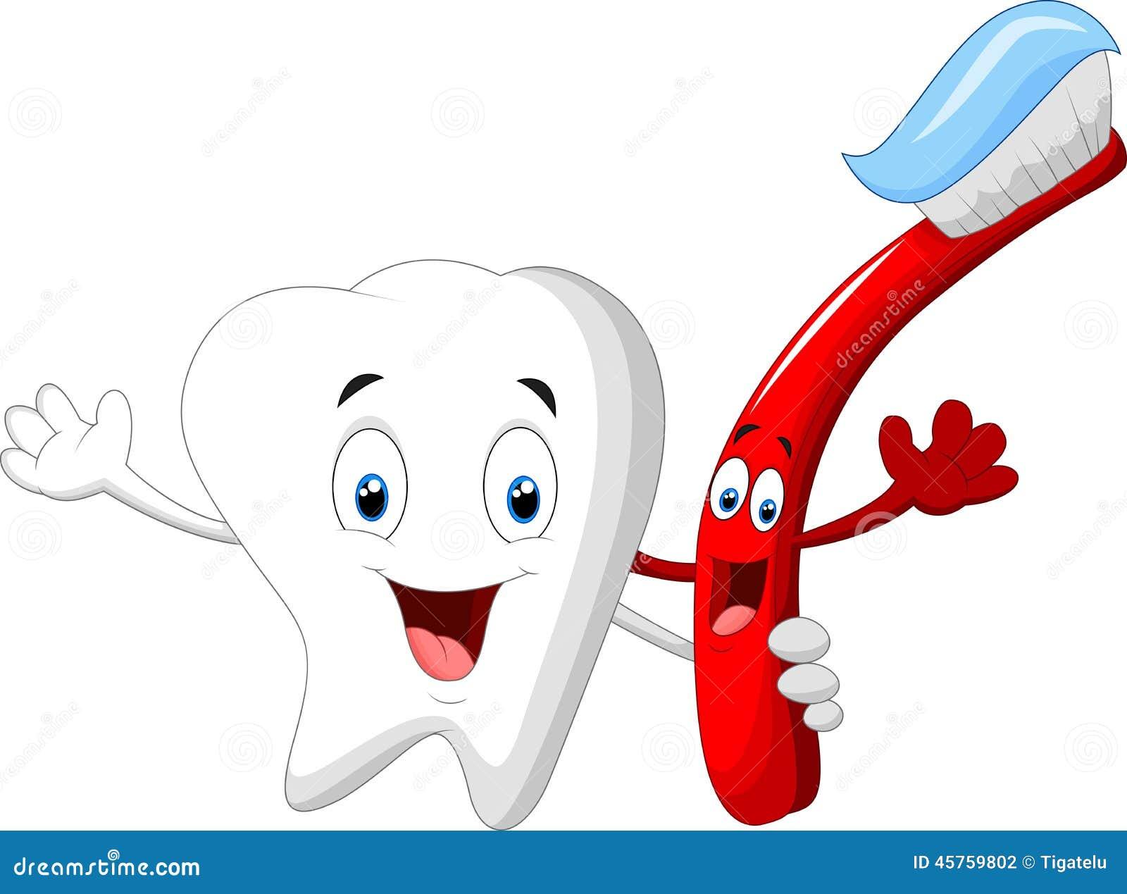 人物牙和牙齿漫画漫画创世魂兵(牙刷)图片