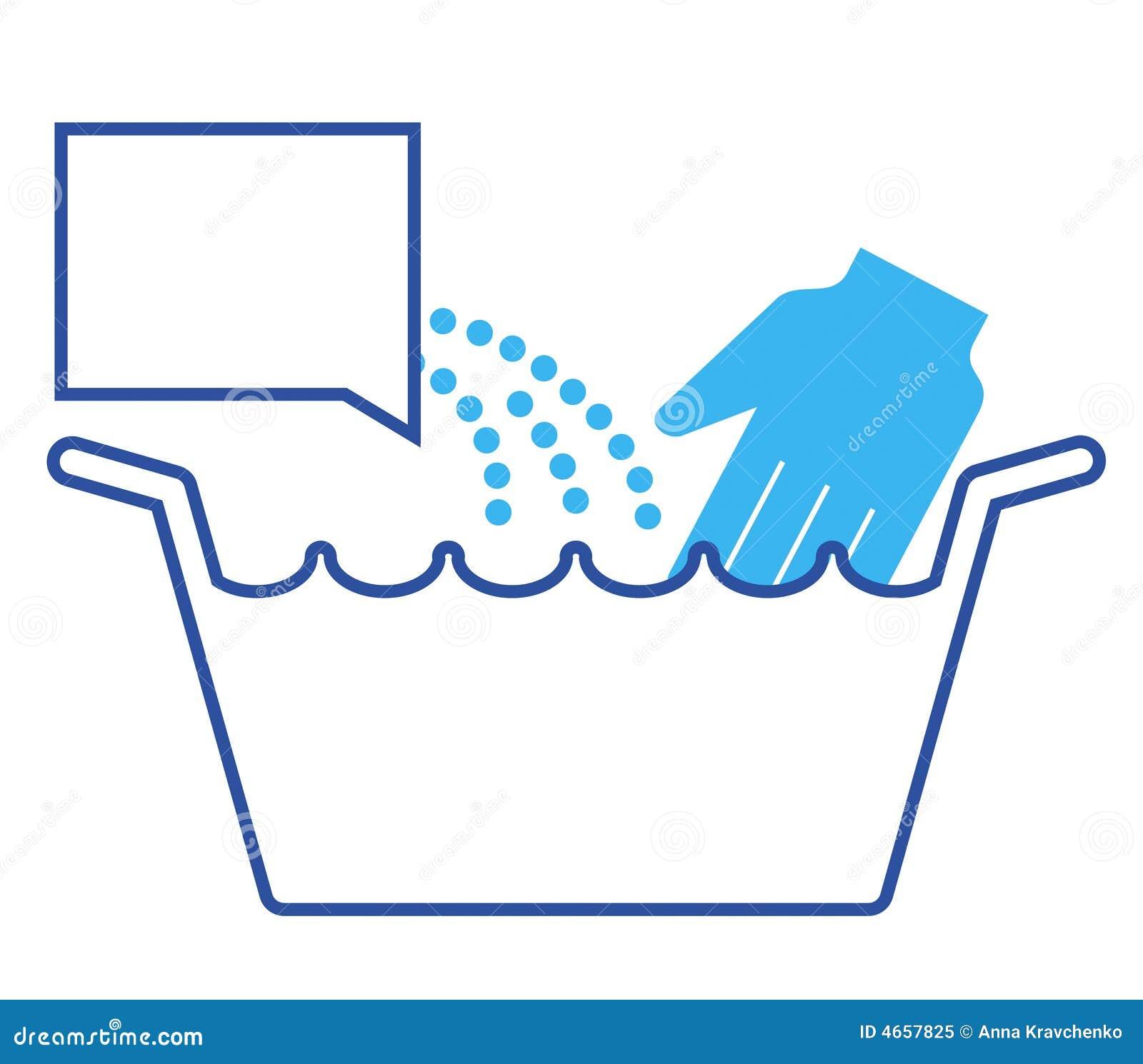艺术洗涤剂玻璃现有量图标洗衣店线路评定洗涤