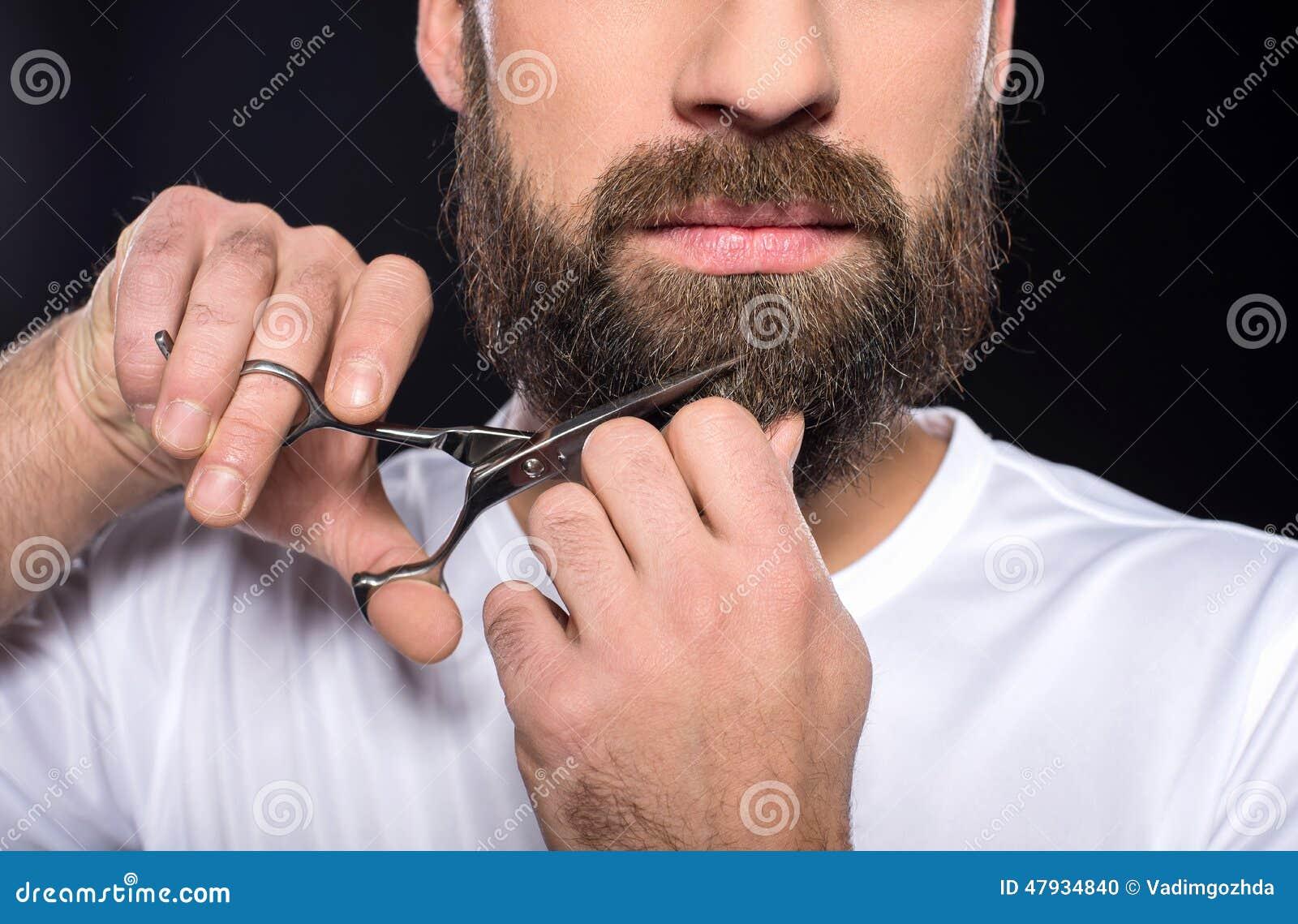 修胡须剪刀