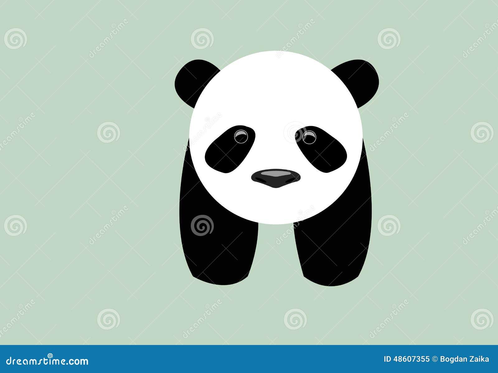 逗人喜爱的小的小熊猫有淡色背景.图片