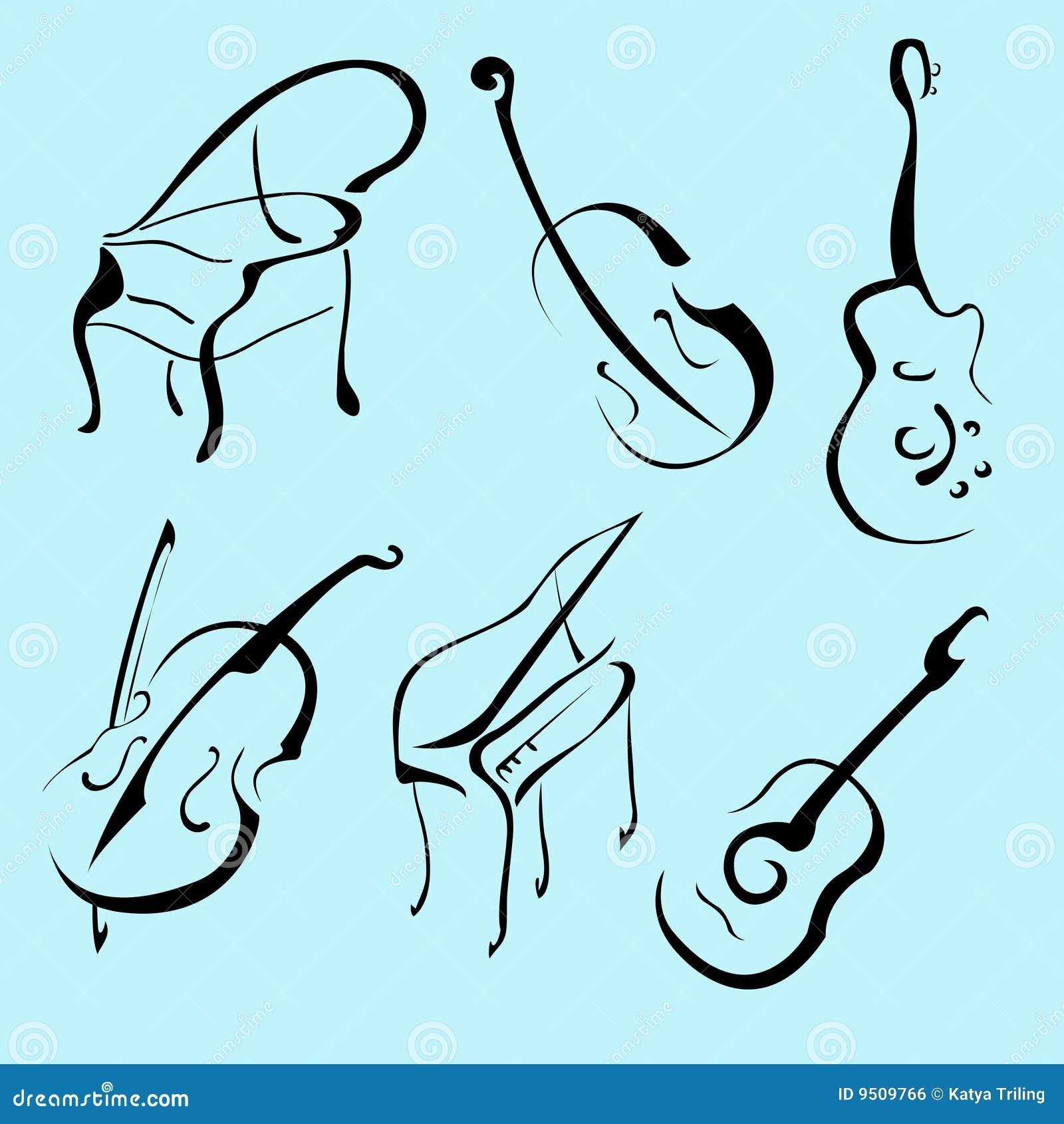乐器设计集图片