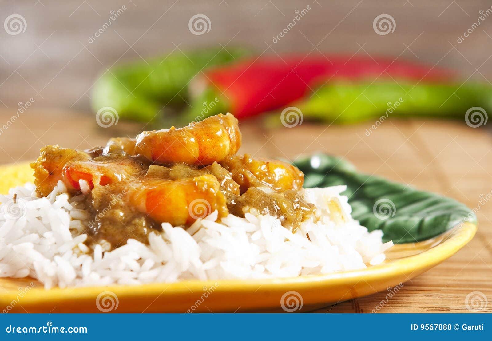咖喱大虾图片