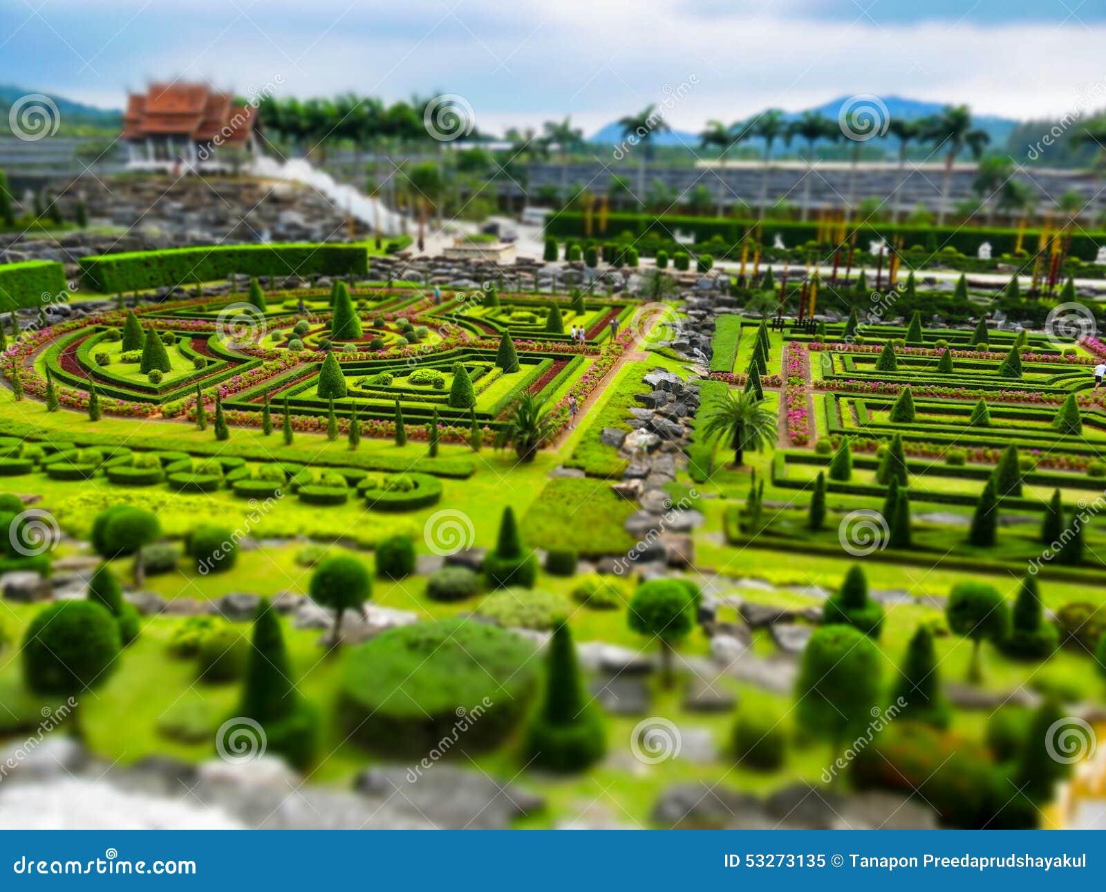 Toy city Nong Nooch Garden in Pattaya, Thailand