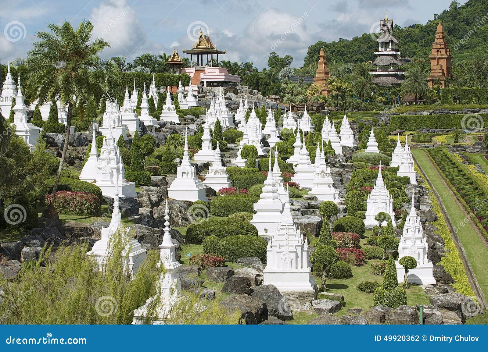 Nong Nooch Tropical Botanical Garden Pattaya Chonburi Thailand Stock Photo Image 49920362