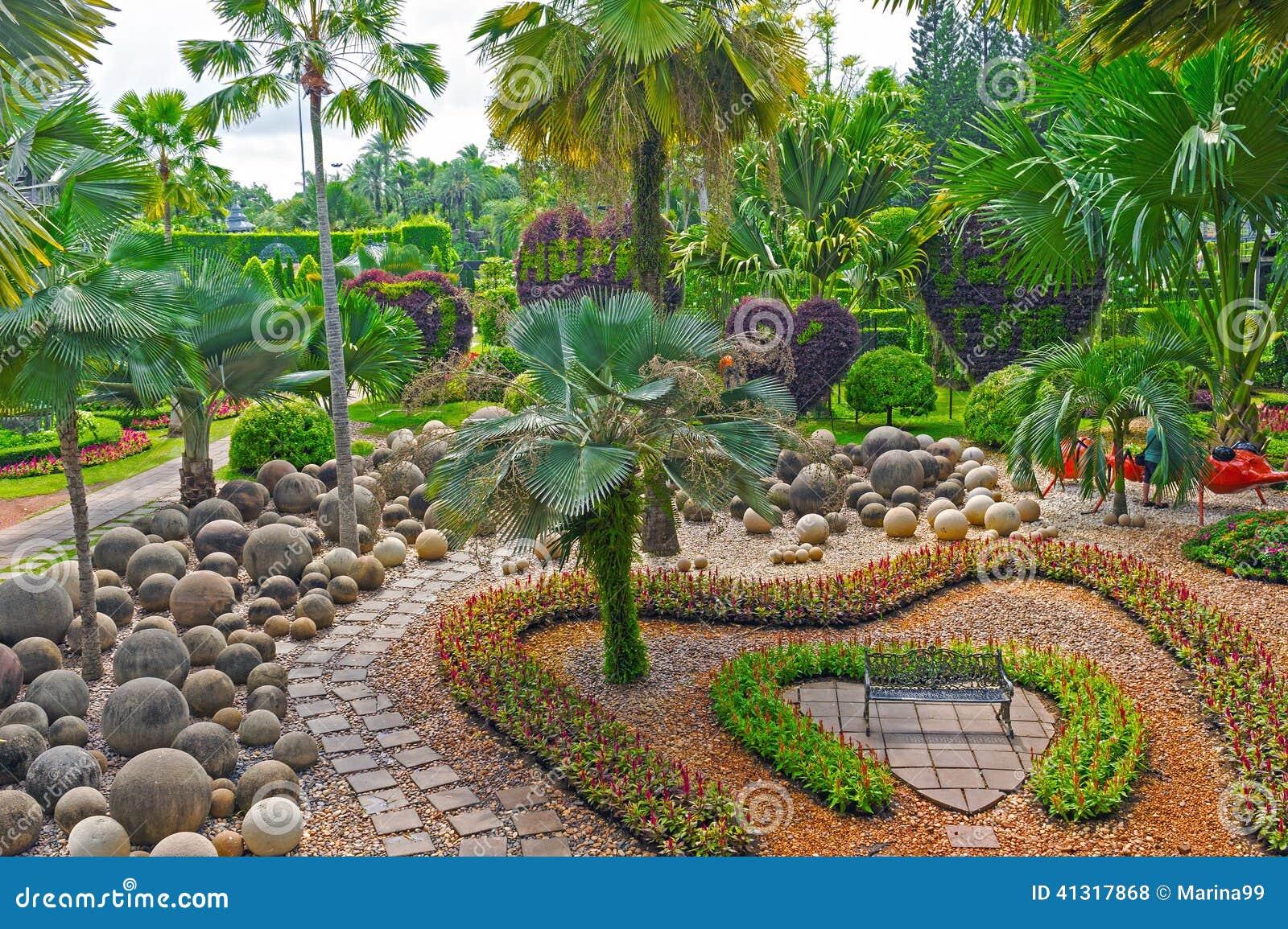 Nong Nooch Tropical Botanical Garden Pattaya Thailand Stock Photo Image 41317868