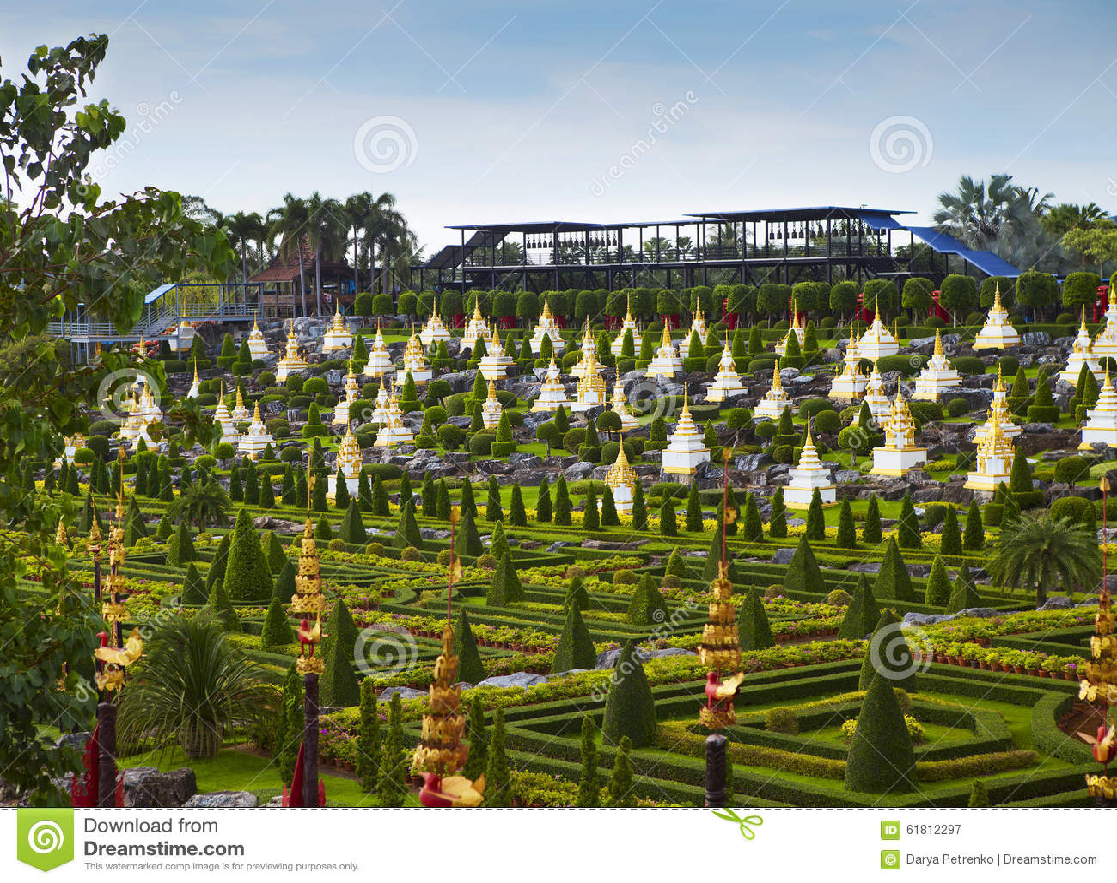 Nong Nooch Tropical Botanical Garden, details, Pattaya, Thailand