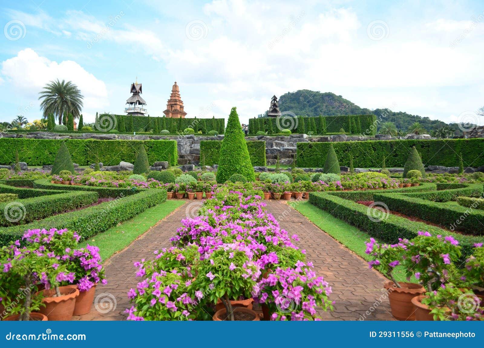 Nong Nooch Tropical Garden Stock Photo Image Of Pear 29311556