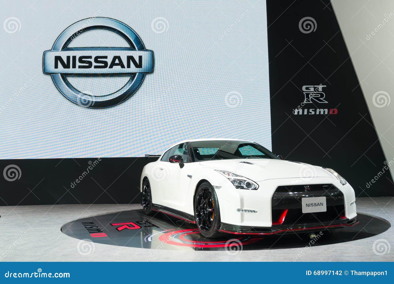 NONTHABURI - 23 ΜΑΡΤΊΟΥ: Nissan GTR Nismo στην επίδειξη στο 37ο Β