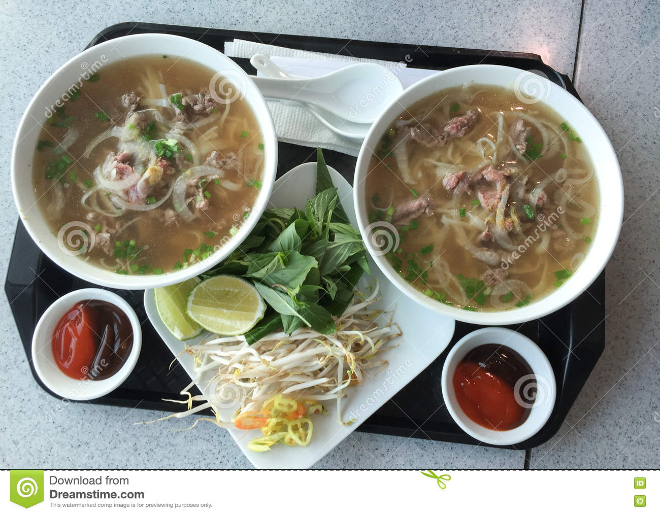 Noodle with beef (called Pho)
