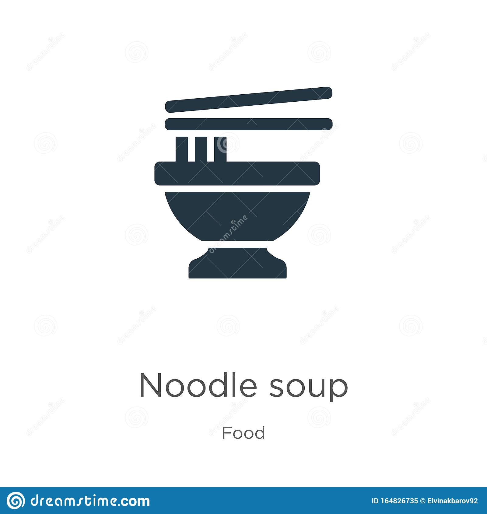 Noodle Soup Icon Vector Trendy Flat Noodle Soup Icon From Food Collection Isolated On White Background Vector Illustration Can Stock Vector Illustration Of Bowl Oriental 164826735
