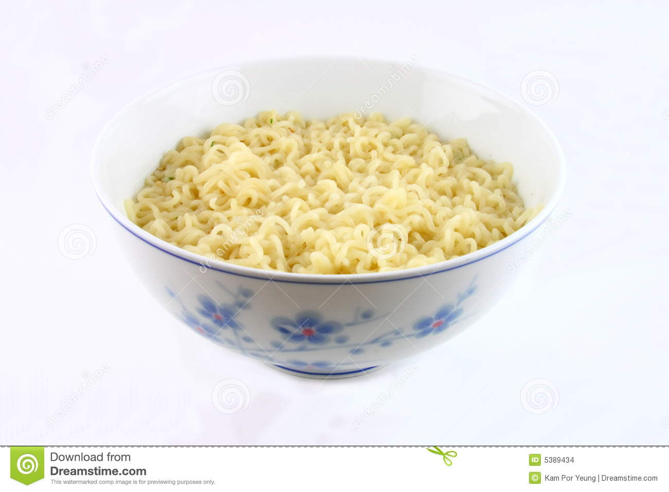 Bowl Of Noodles Stock Images - Image: 5389434