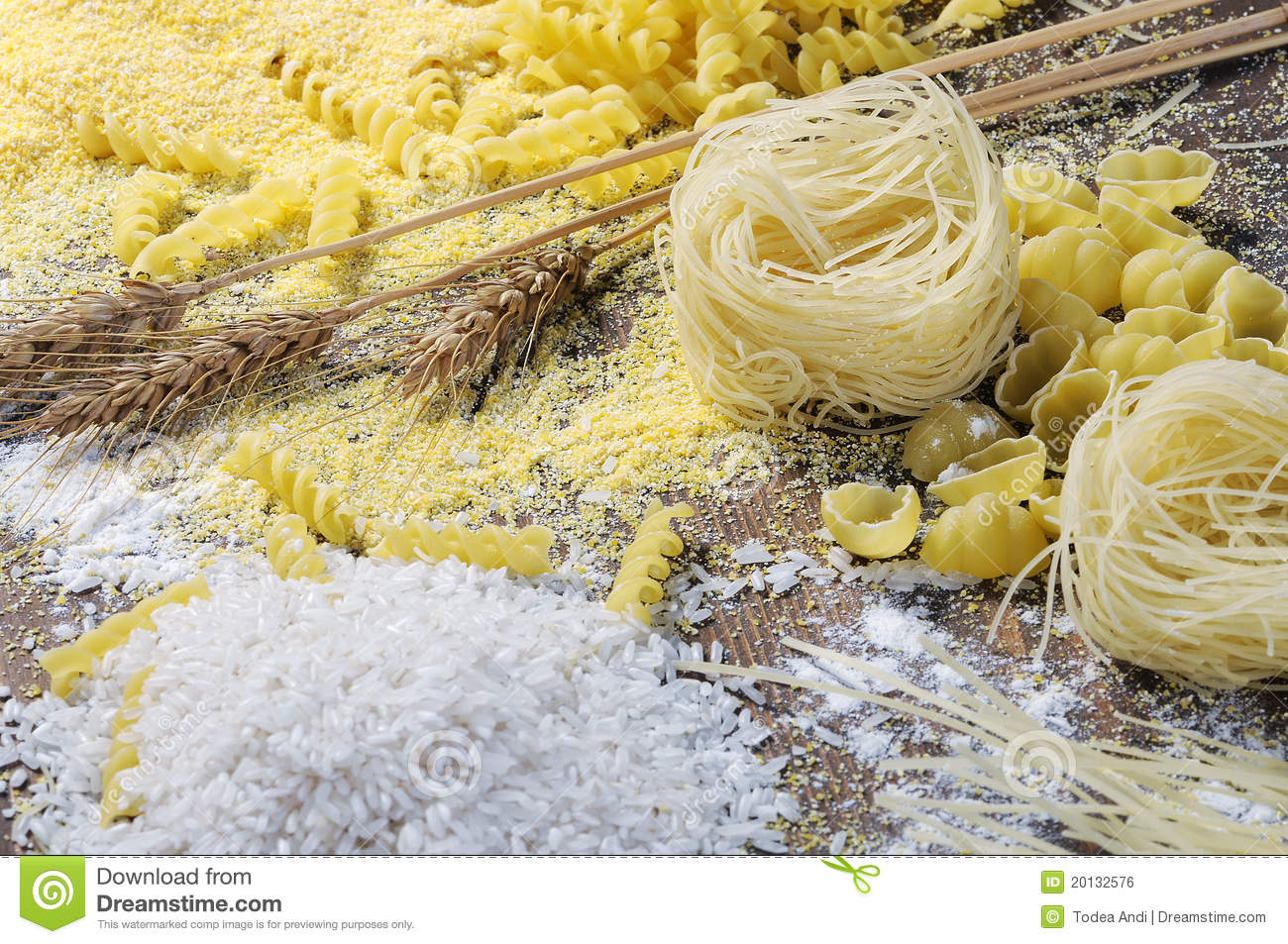 Noodles, pasta and rice