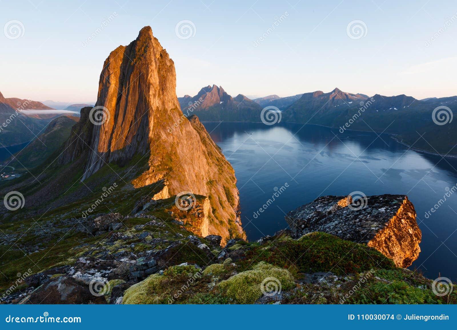 Noorwegen Seglapiek op Senja in Troms