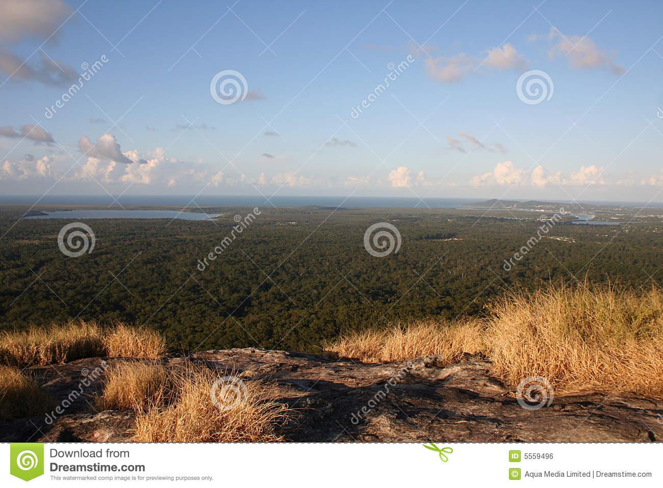 Noosa From Mount Cooroy Royalty Free Stock Image - Image ...