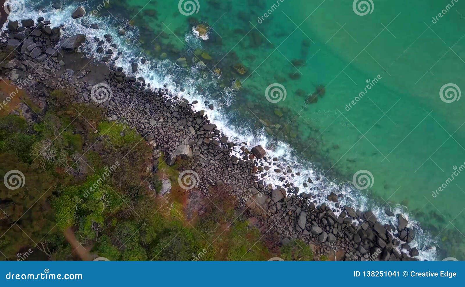 Noosa nationalpark på solskenkusten, Queensland, Australien
