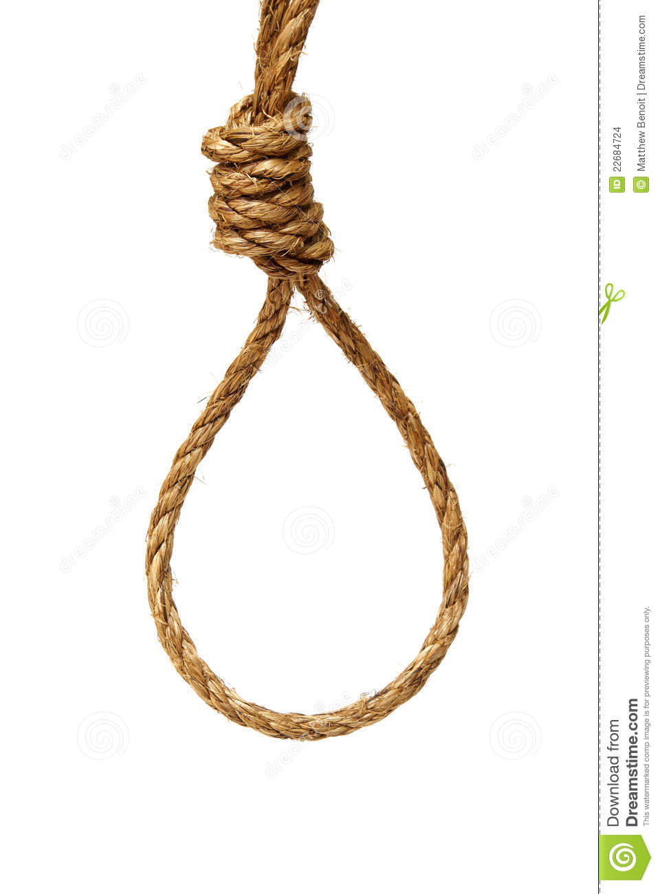 Hangmans rope