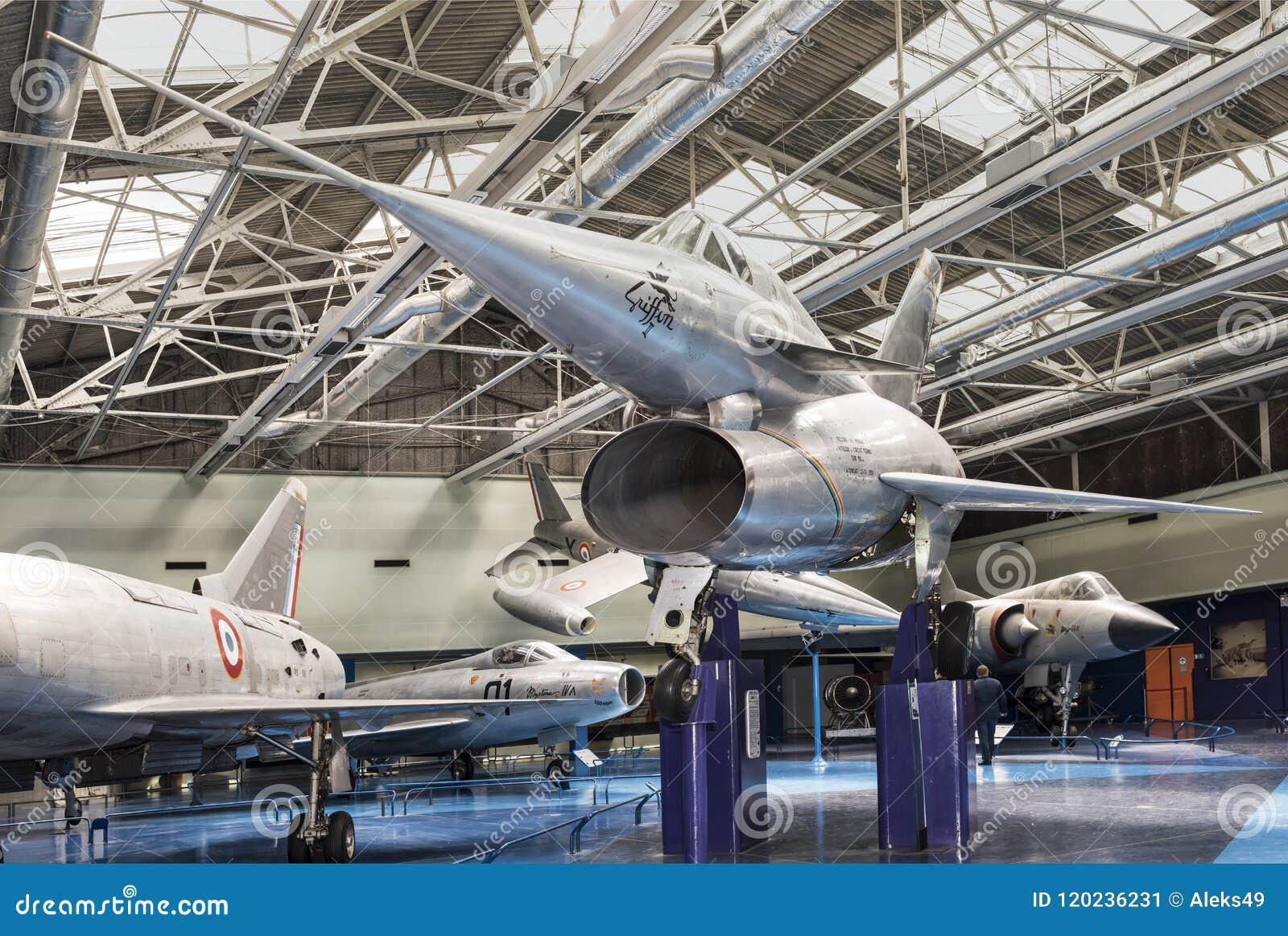 Nord 1500 02 griffon 02 dans le musée de l astronautique et d Avia