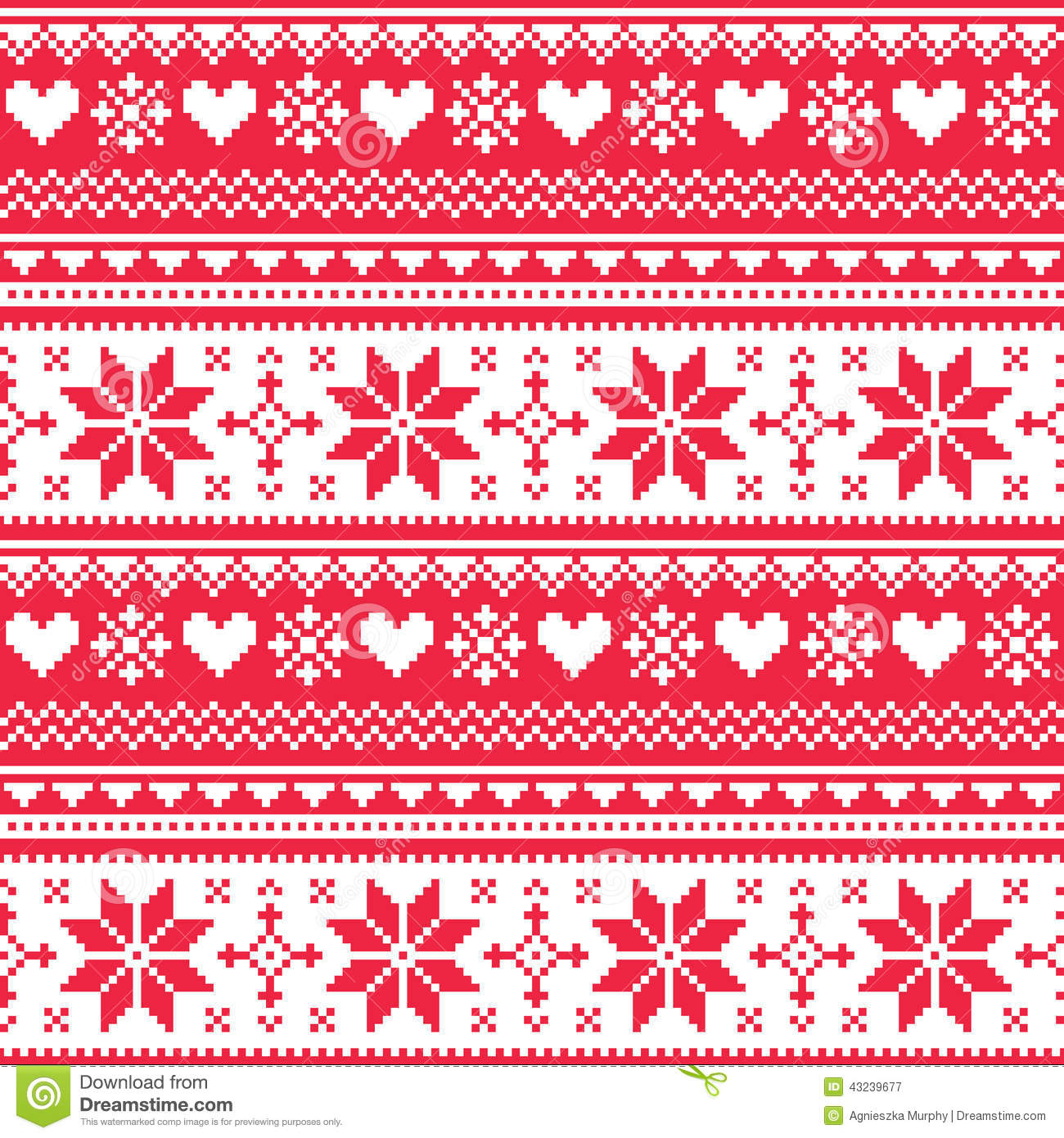 Pattern Paper Craft Christmas