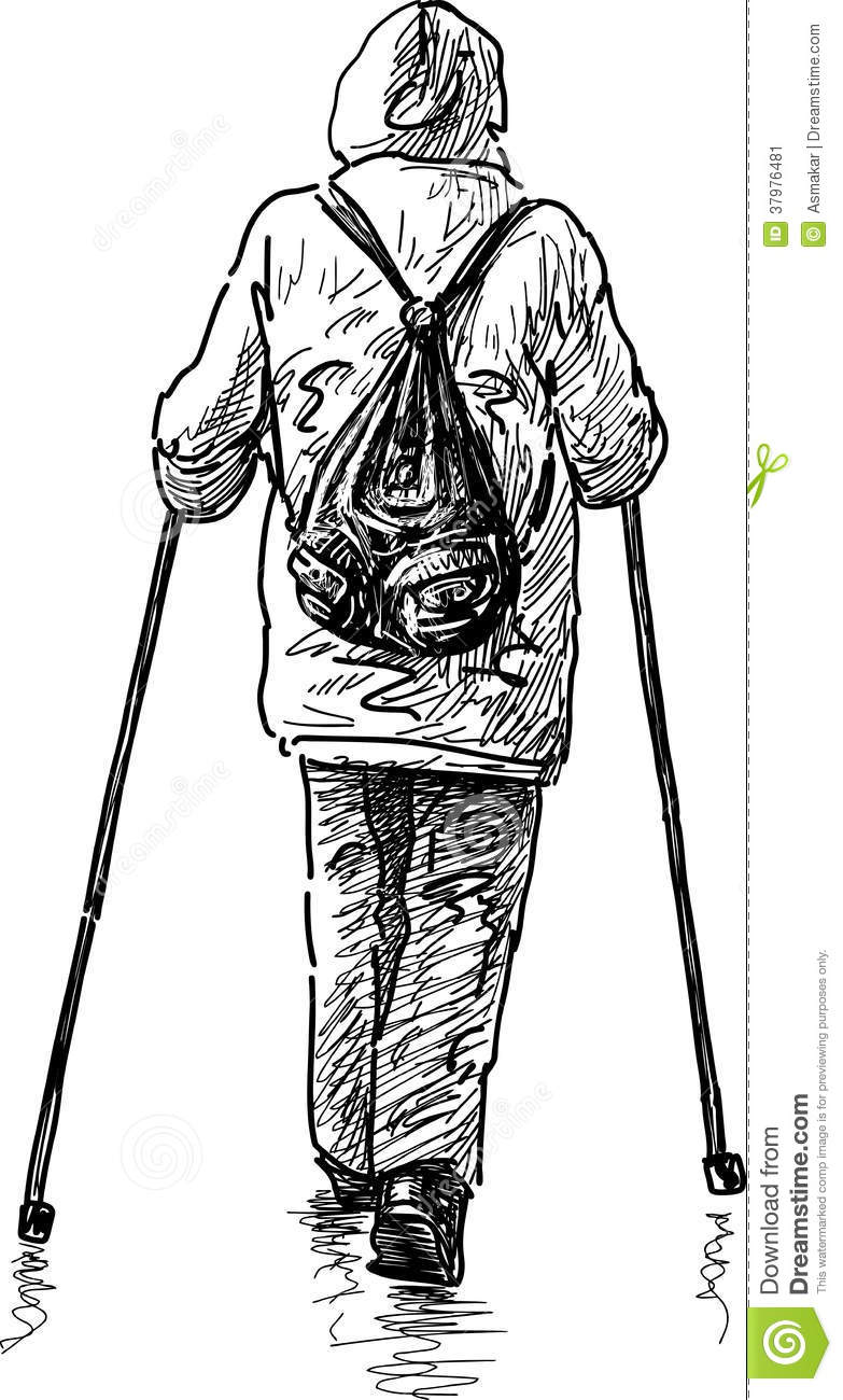 Nordic Walking Stock Image - Image: 37976481