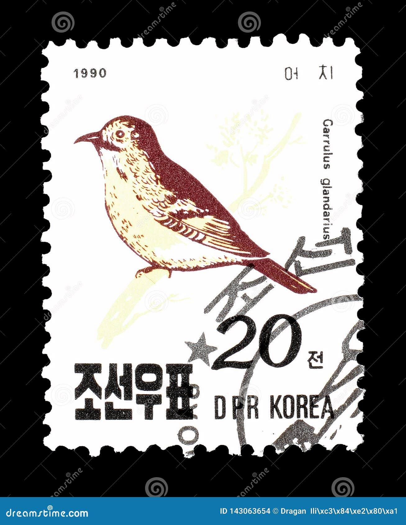 Nordkorea på portostämplar