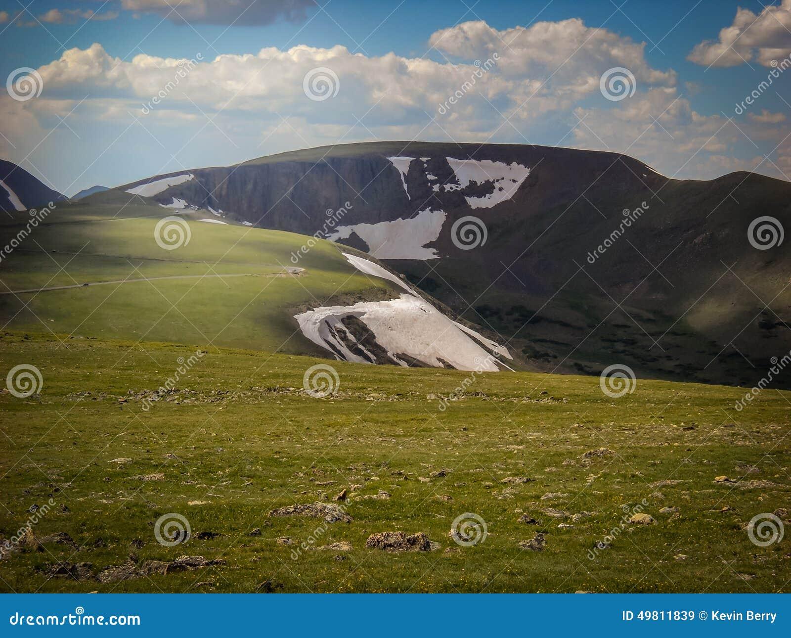 Nordlig Colorado Estes Park Colorado Rocky Mountain nationalpark