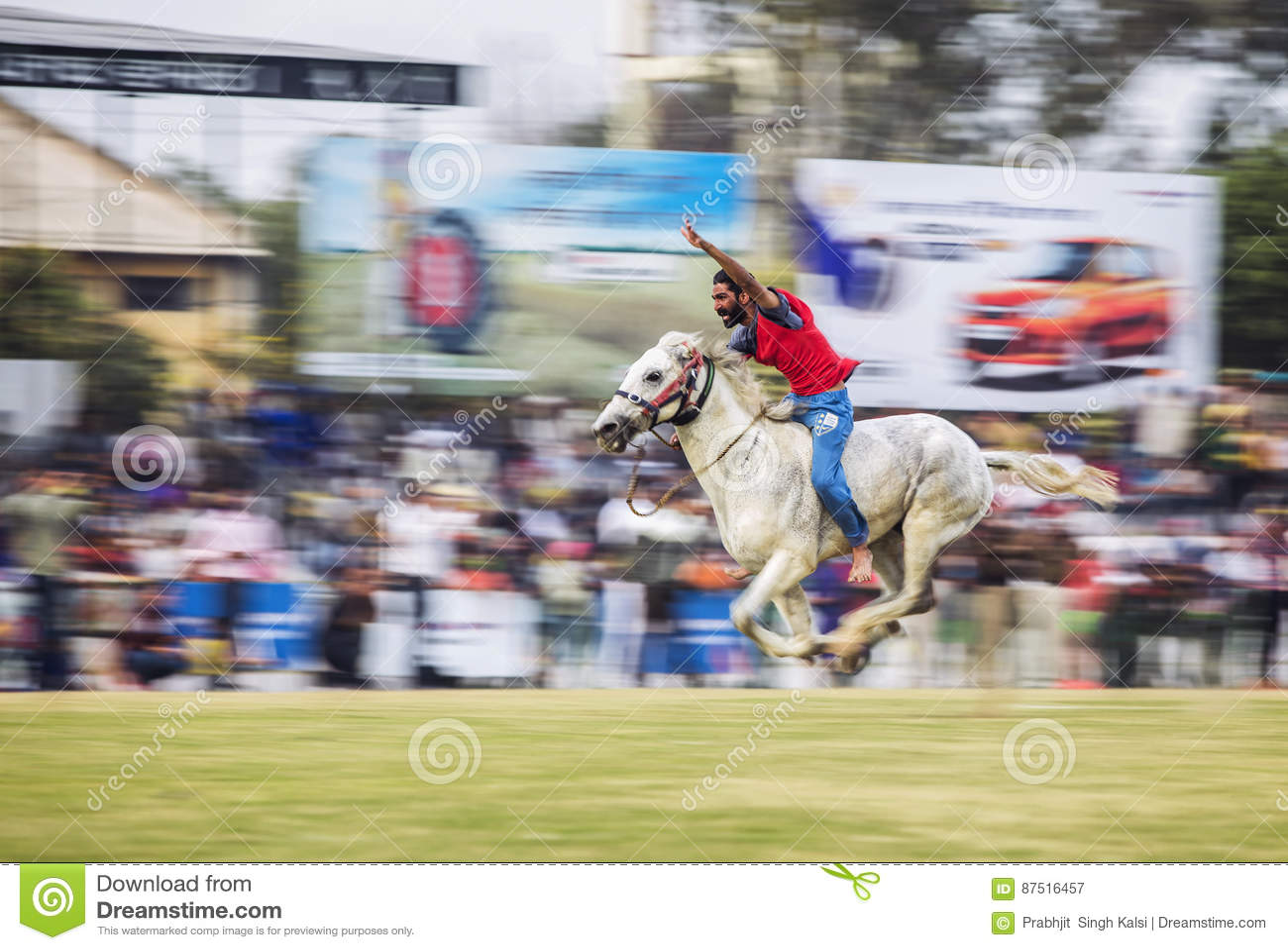 Nordlig pyatigorsk tävlings- russia för caucasus hippodromehäst