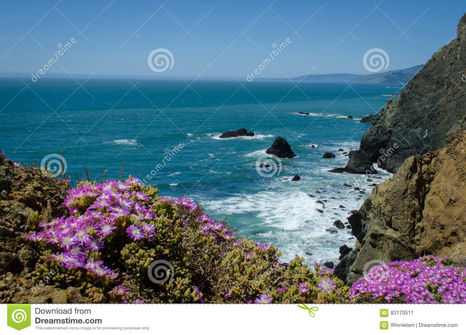 Nordliga Kalifornien kust