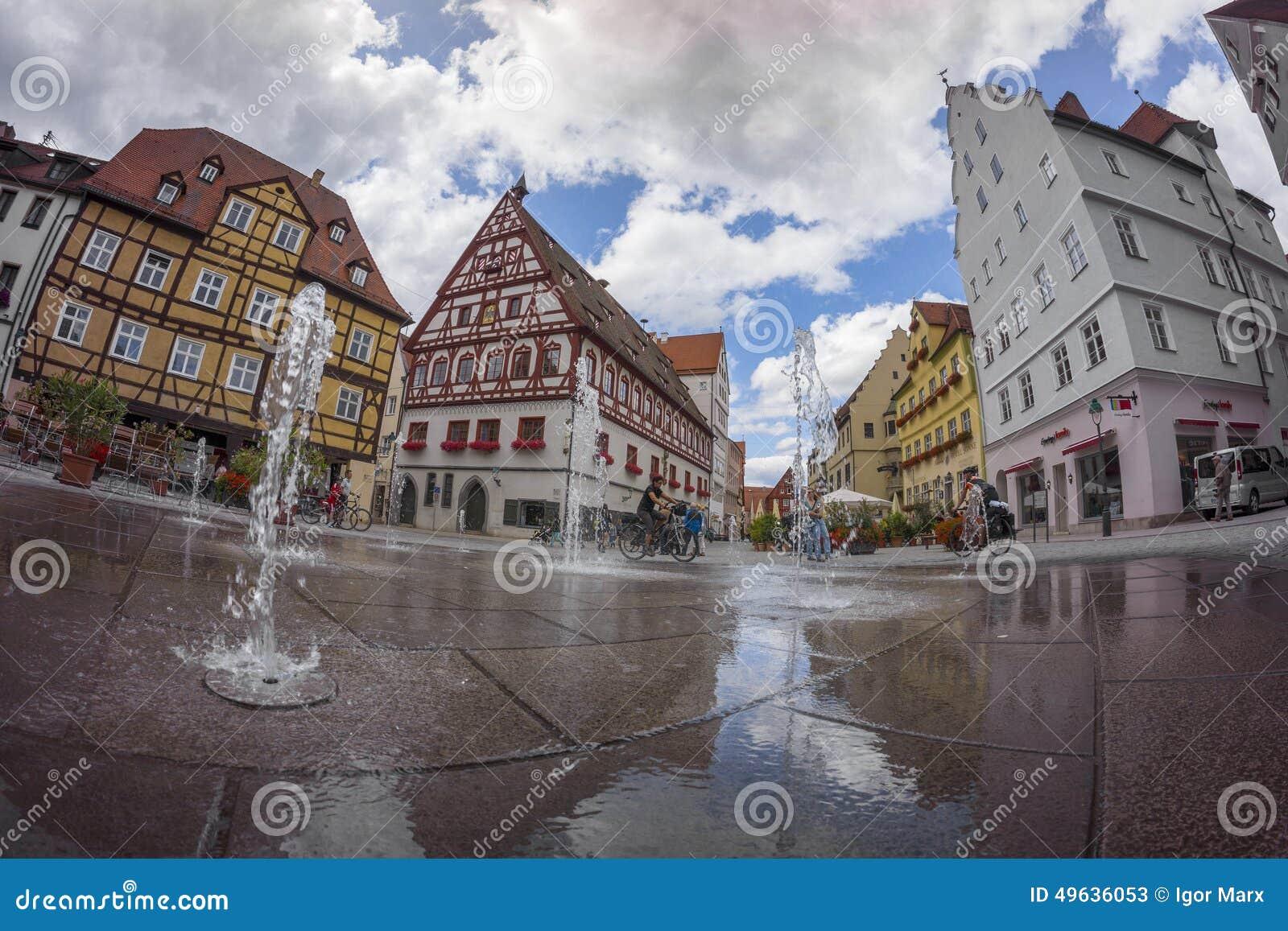Nordlingen una citt storica sulla strada romantica in for Una citta sulla garonna