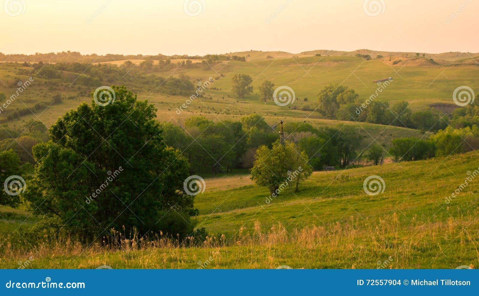 Nordost-Nebraska-Landschaft