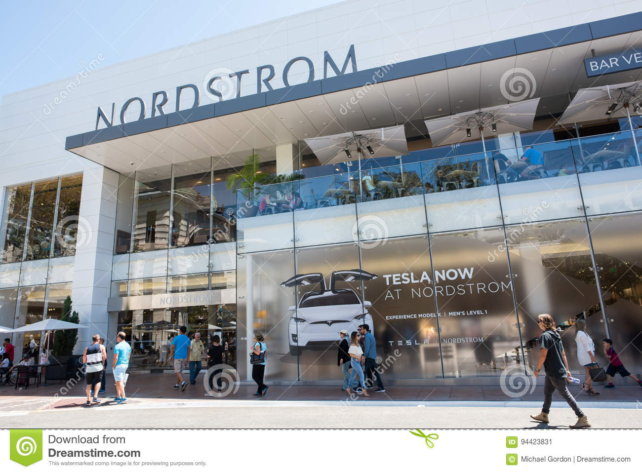 Nordstrom The Grove >> Nordstrom At The Grove Editorial Photo Image Of Experience 94423831