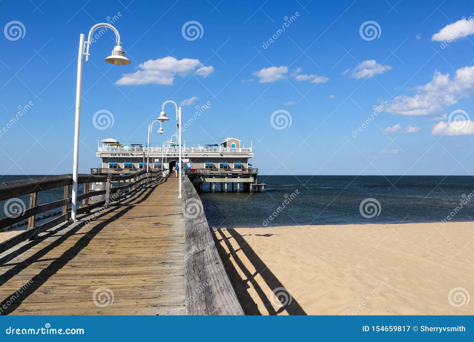 Ocean View Fishing Pier and Restaurant in Norfolk, VA