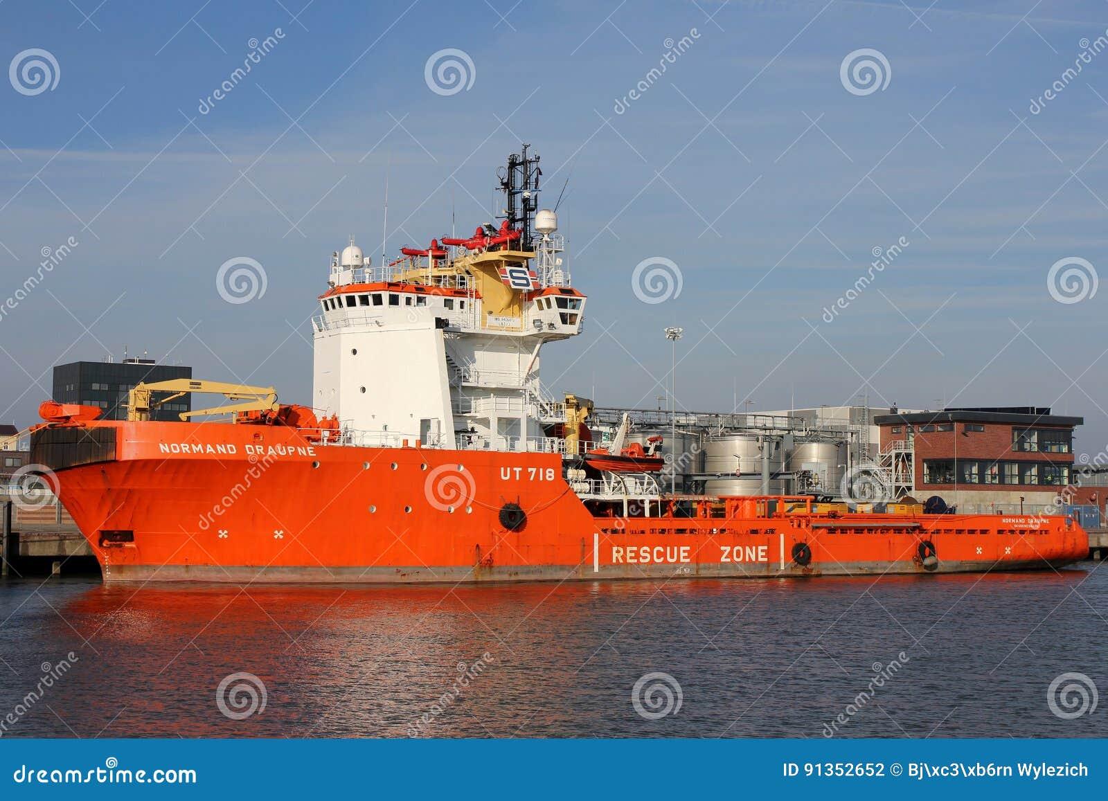 NORMAND DRAUPNE door Solstad Offshore in werking die wordt gesteld die