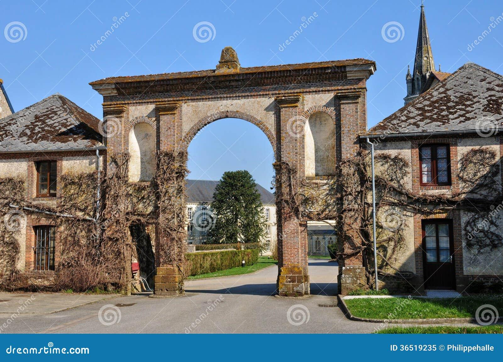 Normandie, abbaye de Trappe de La en La Trappe de Soligny