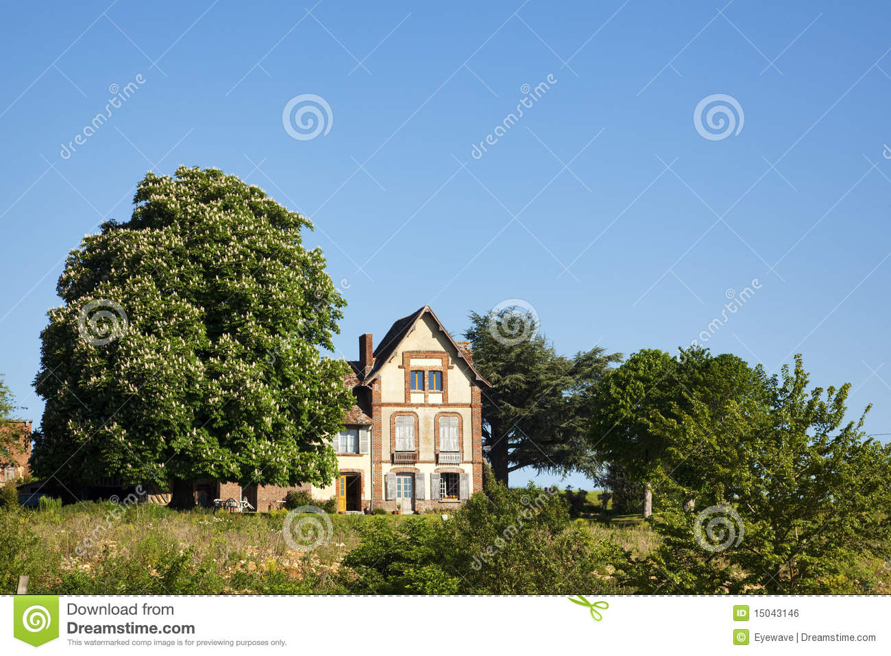 Normandy Farm House Stock Photo Image Of House Home 15043146