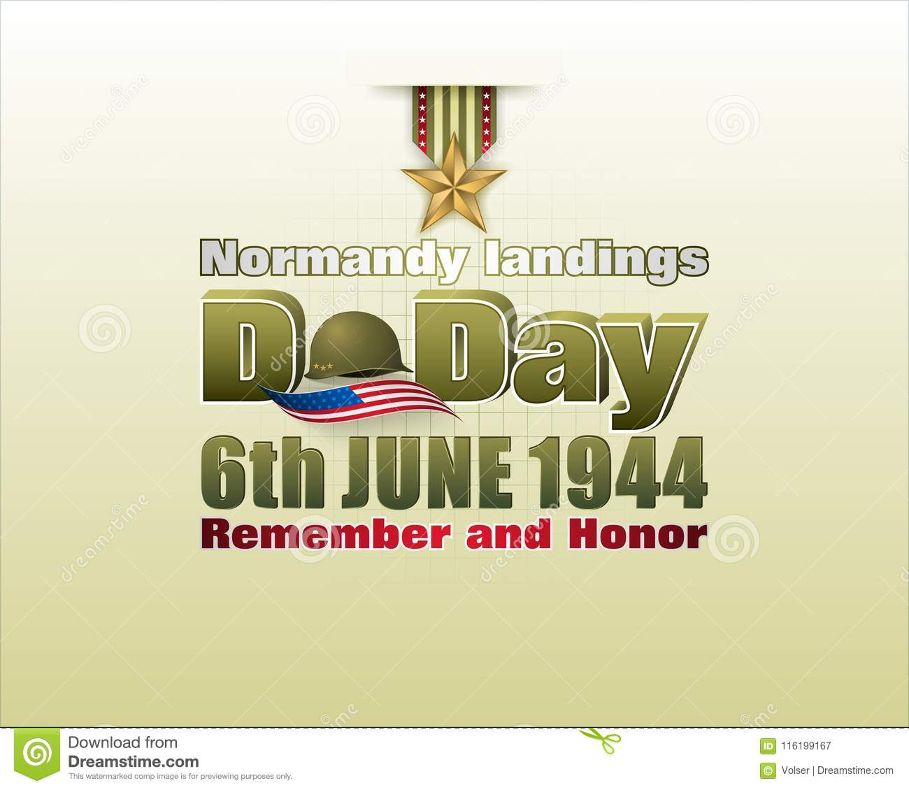 Normandy landings, American D Day, celebration