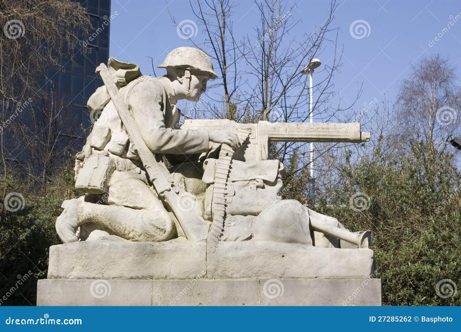 Norr artilleristskulptur, Portsmouth