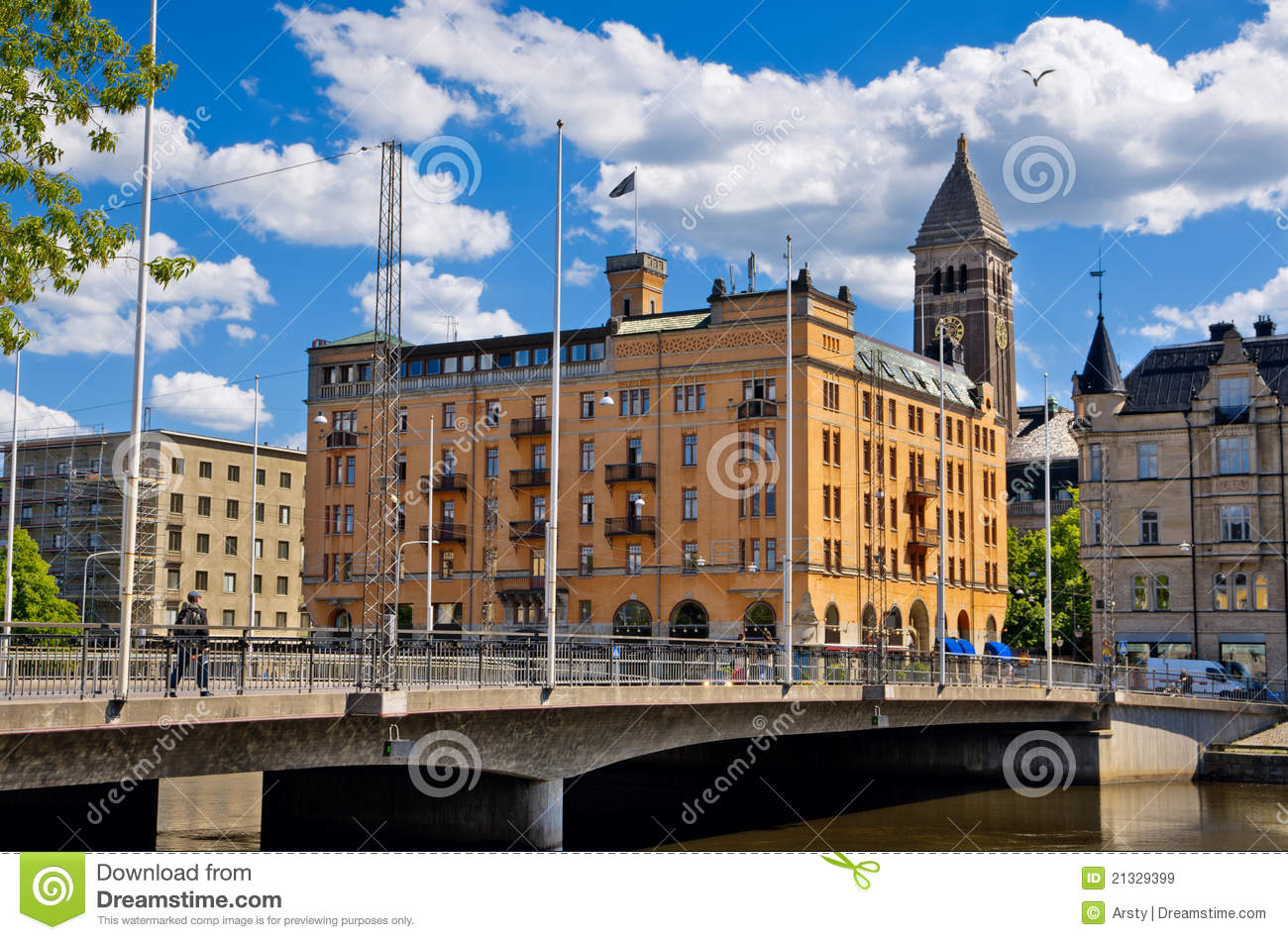 Norrkoping Sweden  city pictures gallery : Norrkoping. Sweden Royalty Free Stock Images Image: 21329399